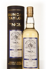 Royal Brackla 12 Year Old 1999 - NC2 (Duncan Taylor) Single Malt Whisky