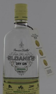 Sloanes Dry Gin 700ml 40,0% Alcohol