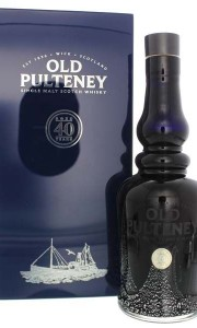 Old Pulteney 40 Years Old Malt Whisky 700ml Gift box