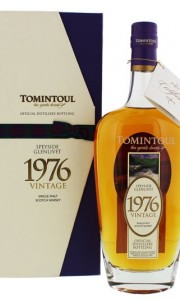 Tomintoul Vintage 1976 700ml Gift box