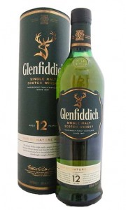 Glenfiddich 12 Year Old Single Speyside Malt Whisky