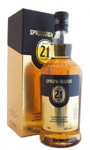 Springbank 21 Year Old Campbeltown Single Malt Whisky