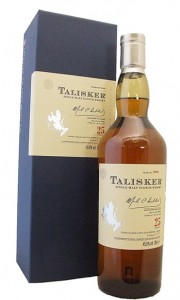 Talisker 25 Year Old 2011 Release Single Island Malt Whisky