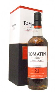 Tomatin 21 Year Old Single Highland Malt Whisky