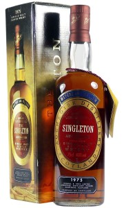 Auchroisk 1975, The Singleton of Auchroisk Bottling with Box