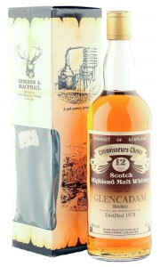 Glencadam 1974 12 Year Old, Gordon & MacPhail Connoisseurs Choice