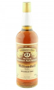 Miltonduff 1963 21 Year Old, Gordon & MacPhail Connoisseurs Choice