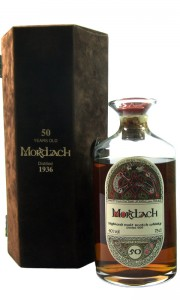 Mortlach 1936 50 Year Old with Presentation Case and COA