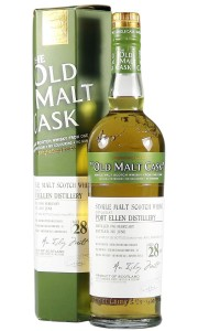 Port Ellen 1983 28 Year Old, The Old Malt Cask 2011 Bottling with Box