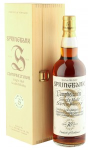 Springbank 30 Year Old Millennium Edition with Wooden Box