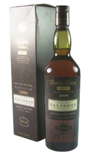 Talisker 1990, The Distillers Edition 2003 Bottling with Box