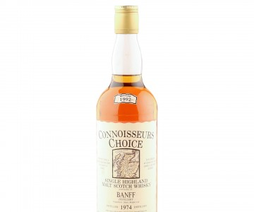Banff 1974, Gordon & MacPhail Connoisseurs Choice 1992 Bottling